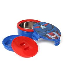 Marvel Avenger Two Container Lunch Box - Blue