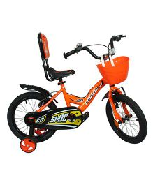 Cosmic Ziva Kids Bicycle Black & Orange - 16 inches