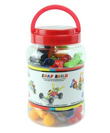 Flying Start Snap Build Linking Toys Multi Colour- 27 pieces