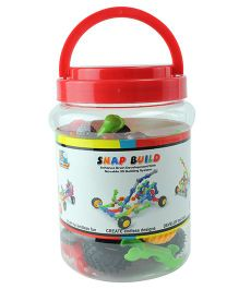 Flying Start Snap Build Linking Toys Multi Colour- 45 pieces