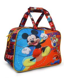 Disney Mickey Mouse Shopping Bag Blue Orange - Length 10.6 inches