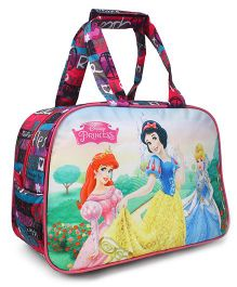 Disney Princess Shopping Bag Blue Pink - Length 10.6 inches