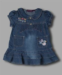 Chocolate Baby Denim Dress - Blue