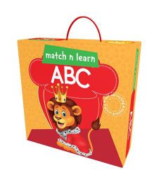 Pegasus Match n Learn ABC Self Correcting Puzzle - 40 Pieces