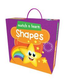 Pegasus Match n Learn Shapes Self Correcting Puzzle - 2 Pieces
