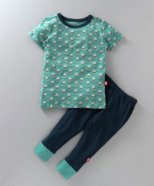 Nino Bambino Top & Bottom Set - Green