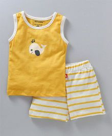 Nino Bambino Top & Shorts Set - Yellow
