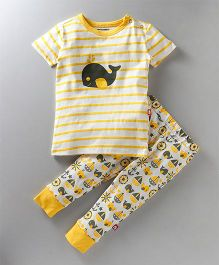 Nino Bambino Top & Bottom Set - Yellow