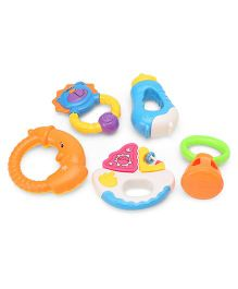 Smiles Creation Rattle Set Multicolor - Pack Of 5