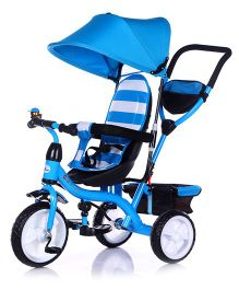 Toyhouse Corsa Trike With Canopy - Blue