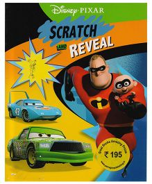 Disney Pixar Scratch And Reveal Book - English
