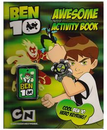 Ben 10 Awesome Activity Book - English