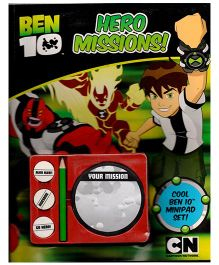 Ben 10 Activity With Hero Mission Book - English