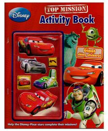 Disney Top Mission Activity Book - English