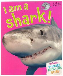 I Am A Shark Knowledge & Sticker Activity Book - English