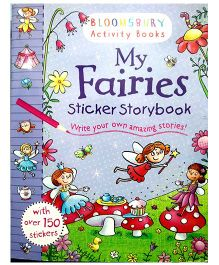 My Fairies Sticker Story Book - English