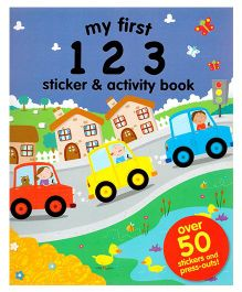 My First 123 Sticker And Activity Book - English