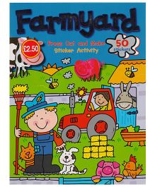 Press Out and Make Farmyard Sticker Book - English