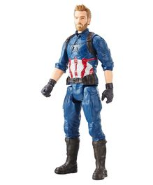 Marvel Infinity War Titan Hero Series Captain America Blue - 30 cm