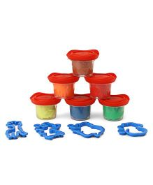 Maped Modeling Dough Set Pack of 6 - Multi Colour