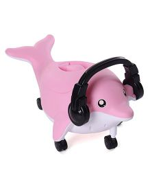 Dolphin Shaped Musical Potty Chair - Light Pink