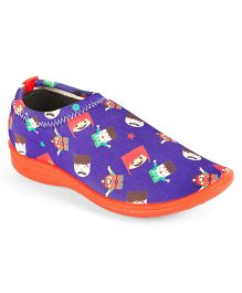 Footfun Slip On Casual Shoes - Blue