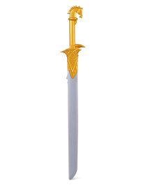 Baahubali And Devasana's Sword - Silver Gold