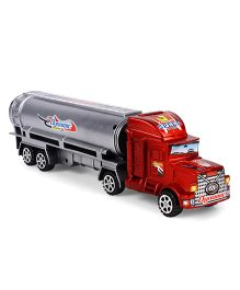 Playmate Toy Tanker - Red & Grey
