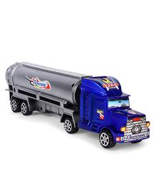 Playmate Toy Tanker - Blue & Grey