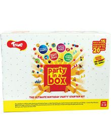 Toiing Party In A Box The Ultimate Party Starter Kit - White Yellow