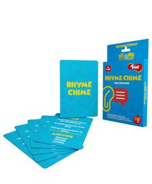 Toiing Rhyme Chime Educational Card Games - Blue
