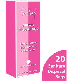 SanNap Sanitary Disposal Bags - Pack of 20