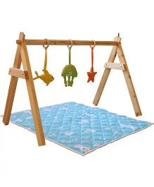 Shumee Under The Sea Themed Baby Gym - Multicolour