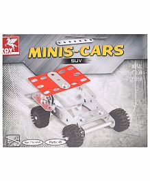 Toy Kraft Minis Cars SUV Construction Set - 45 Pieces