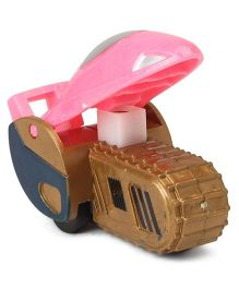 Playmate Friction Toy Car - Pink Brown