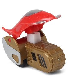 Playmate Friction Toy Car - Red Silver