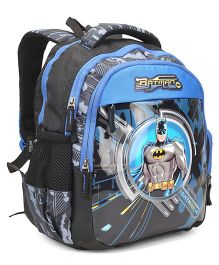 DC Comics Batman School Bag Blue Black - Height 14 inches