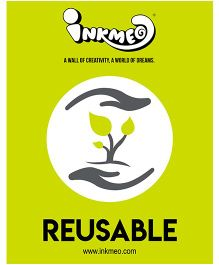 Inkmeo Reusable Notebook - Green