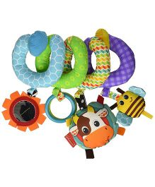 Infantino Spiral Activity Toy - Multicolour