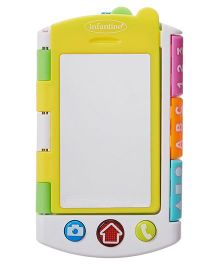 Infantino Noodling Smarty Phonebook Toy - Multicolour