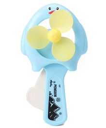 Mini Toy Fan - Blue Yellow