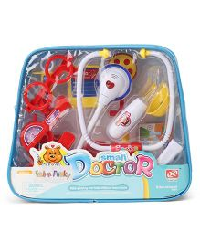 Baby Doctor Set of 15 Small - White Red