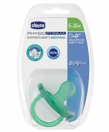 Chicco Physio Soft Silicone Soother - 1 Piece (Color May Vary)