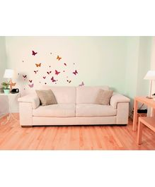 Home Decor Line Wall Decor - Butterfly Silhouettes