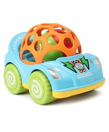 Baby Mini Pull Back Racing Car With Ball - Blue
