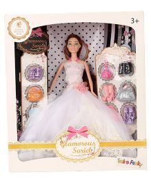 Fashion Doll With Accessories White - 23 cm