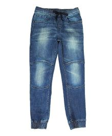 Flying Machine Jogger Style Denim Jeans - Blue