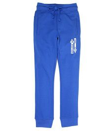 Flying Machine Cotton Track Pant - Blue