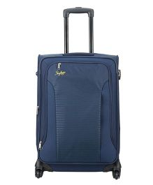 Skybags Footloose Napier 4 Wheels Strolley Dark Blue - Height 26 inches