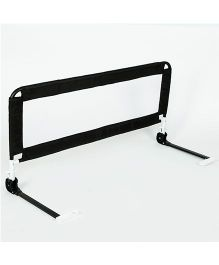 NHR Foldable Single Bed Rail Guard - Black
